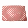 Paisley Splash in Pink Polka Dot Crib Sheet