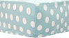 Pixie Baby Aqua Dot Crib Sheet