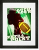 Extra Point Framed Art Print