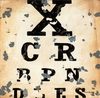 Eye Chart Canvas Wall Art