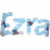 Ezra Spiderman Hand Painted Wall Letters