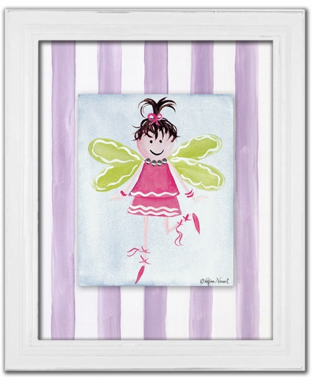 Fairy in Fuschia Canvas Reproduction