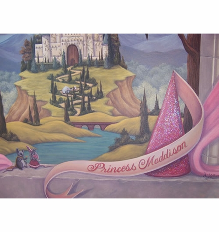 Fairytale Dreams Canvas Wall Hanging