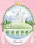 Fairytale Princess Castle Canvas Wall Art