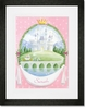 Fairytale Princess Castle Framed Art Print