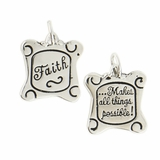 Faith - Makes All Things Possible Charm CN212 $(+14.00)