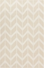 Fallon Arrows Flat Weave Rug in Ivory