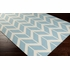 Fallon Arrows Flat Weave Rug in Slate
