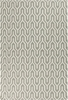 Fallon Flat Weave Rug in Gray and Ivory