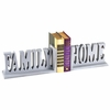 Family and Home Letter Bookends