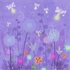 Fanciful Fireflies Canvas Wall Art