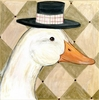 Fancy Duck Canvas Reproduction