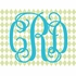 Fancy Interlock Diamond Monogram Canvas Wall Art
