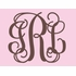 Fancy Interlock Monogram Canvas Wall Art