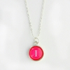 Fandango Color Personalized Initial Necklace
