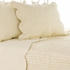 Fanny Champagne Quilt and Sham Set