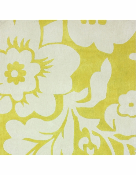 Fantasia Rug in Lemon