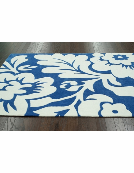 Fantasia Rug in Royal Blue