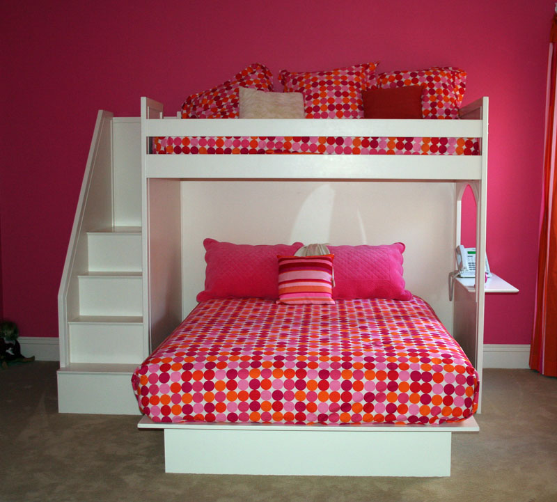 ... Rooms > Pick Your Color > Custom > Fantasy Twin over Queen Bunk Bed