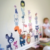 Fantasy Forest Critters Fabric Wall Decals