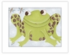 Farley Frog Framed Canvas Reproduction