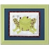 Farley Frog Personalized Framed Canvas Reproduction