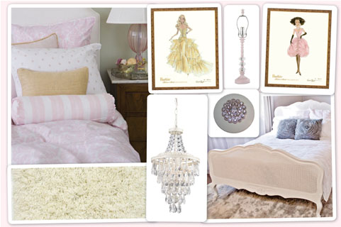 Fashion Brocade Bedroom
