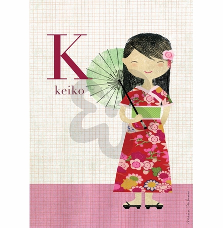 Fashion Kimono Canvas Wall Art
