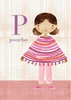 Fashion Poncho Canvas Wall Art