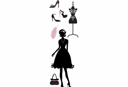 On Sale Fashionistas Wall Decals