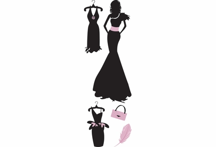 Fashionistas Wall Decals