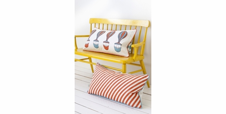 Ferris Organic Cotton Playful Pillow