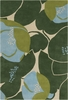 Field Poppy Blue Amy Butler Rug
