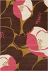 Field Poppy Pink Amy Butler Rug