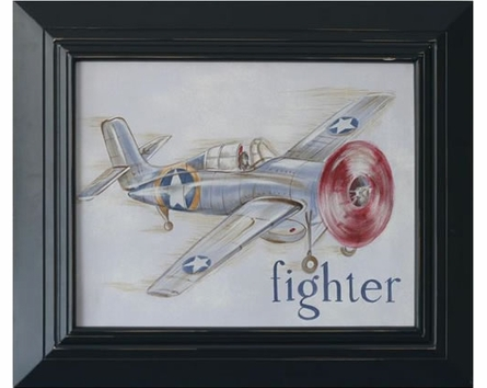 Fighter Hand Painted Art