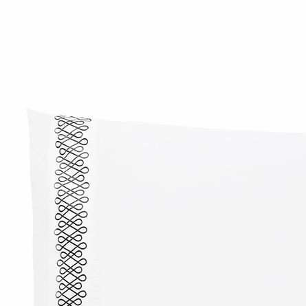Filigree Ink Pillowcase Pair