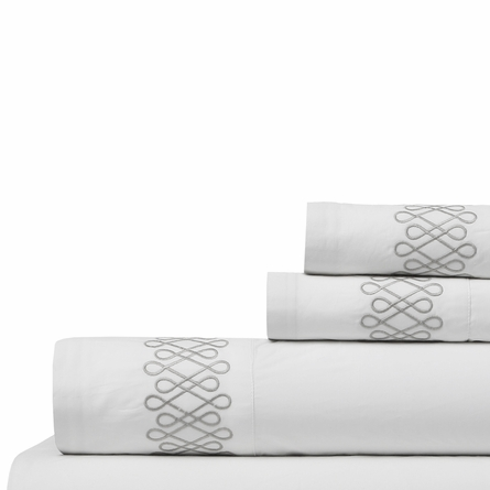 Filigree Smoke Sheet Set