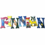 Finnian Lego Hand Painted Wall Letters
