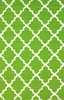 Fiona Trellis Indoor/Outdoor Rug in Green