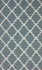 Fiona Trellis Indoor/Outdoor Rug in Light Blue