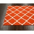 Fiona Trellis Indoor/Outdoor Rug in Orange