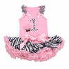 First Birthday Zebra Tutu Set
