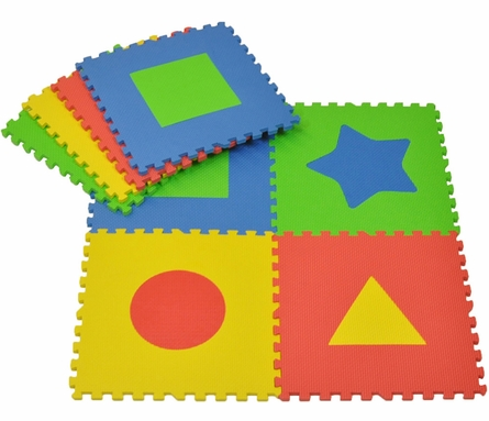First Shapes Playmat