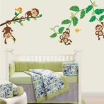 Five Little Monkeys Wall Decals