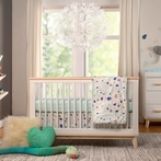 Fleeting Flora 6-Piece Crib Bedding Set
