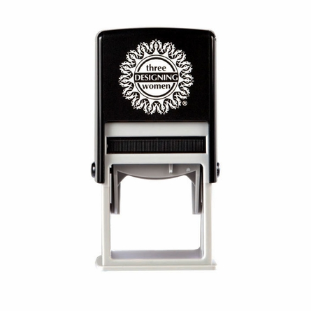 Fleur Personalized Self-Inking Stamp