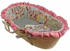 Flirty Flowers Pink Moses Basket