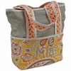 Flirty Flowers Yellow Tote Diaper Bag