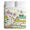 Floating to the Edge Luxe Duvet Cover