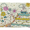 Floating to the Edge Fleece Throw Blanket